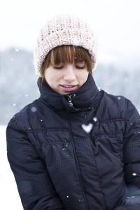 Andrea in winter