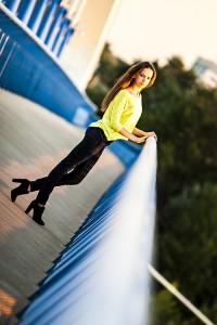 Veronika at Apollo Bridge